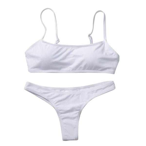 2019 New Summer Women Solid Bikini Set Push up UnPadded Bra Swimsuit Swimwear Triangle Bather Suit 2 2019 New Summer Women Solid Bikini Set Push-up UnPadded Bra Swimsuit Swimwear Triangle Bather Suit Swimming Suit biquini