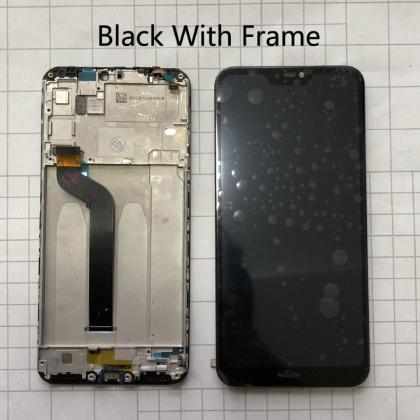 """5 84 AAA Quality LCD Frame For Xiaomi Mi A2 Lite LCD Display Touch Screen Digitizer 1 5.84"""" AAA Quality LCD+Frame For Xiaomi Mi A2 Lite LCD Display+Touch Screen Digitizer Assembly For Xiaomi Redmi 6 Pro LCD Replace"""