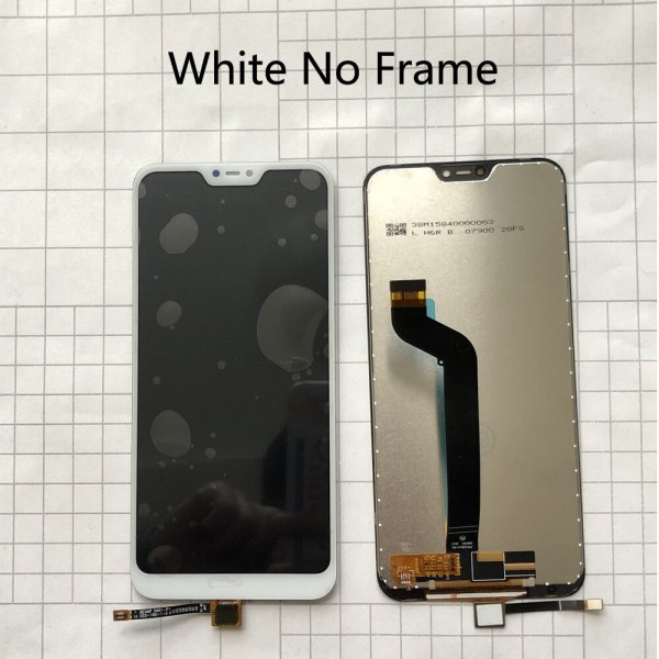 """5 84 AAA Quality LCD Frame For Xiaomi Mi A2 Lite LCD Display Touch Screen Digitizer 2 5.84"""" AAA Quality LCD+Frame For Xiaomi Mi A2 Lite LCD Display+Touch Screen Digitizer Assembly For Xiaomi Redmi 6 Pro LCD Replace"""