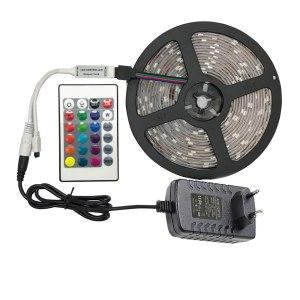 5 meter 300Leds Non waterproof RGB Led Strip Light 2835 DC12V 60Leds M Flexible Lighting Ribbon Innrech Market.com