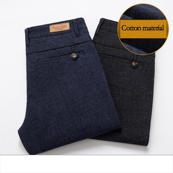HCYX Brand 2019 four season Classic High quality Men s Casual Pants Trousers Men Casual Pants 4 HCYX Brand 2019 four season Classic High quality Men's Casual Pants Trousers Men Casual Pants Business Straight Size 38