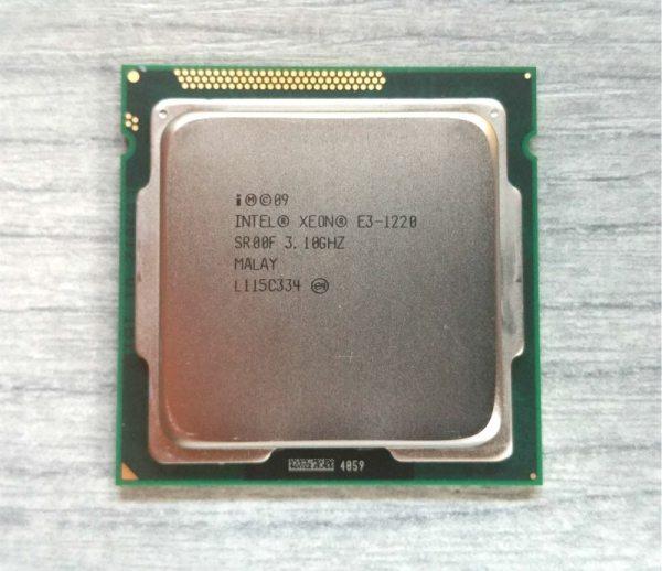 Intel Xeon E3 1220 3 1GHz 5 GT s Quad Core CPU Processor SR00F LGA1155 Intel Xeon E3 1220 3.1GHz 5 GT/s Quad-Core CPU Processor SR00F LGA1155