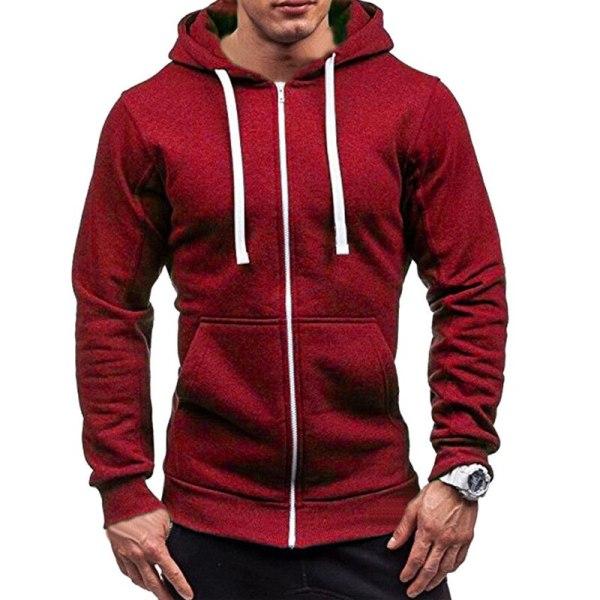 Men s Solid Zip Up Hoodies Classic Modis Winter Hoodies Sweatshirt Jacket Coat Tops Long Sleeve 3 Men's Solid Zip Up Hoodies Classic Modis Winter Hoodies Sweatshirt Jacket Coat Tops Long Sleeve Casual Male Hoodies