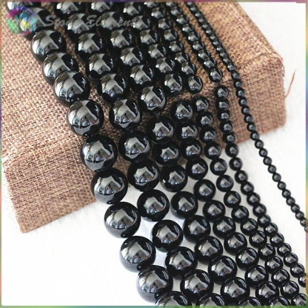 Natural Black Tourmaline Loose Round Beads 4mm 6mm 8mm 10mm 12mm Natural Black Tourmaline Loose Round Beads 4mm,6mm,8mm,10mm,12mm