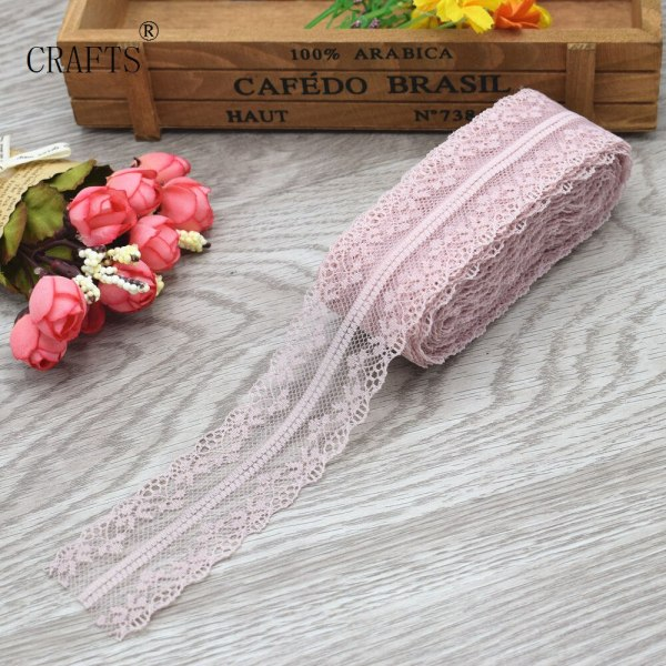 New 10 yards beautiful lace ribbon 3 8 cm wide DIY decoration accessories holiday decorations 1 New! 10 yards beautiful lace ribbon, 3.8 cm wide, DIY decoration accessories, holiday decorations