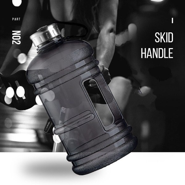 Soffe 2 2L Large Capcity 1 2 Gallon Water Bottle Bpa Free Shaker Protein Plastic Sport 4 Soffe 2.2L Large Capcity 1/2 Gallon Water Bottle Bpa Free Shaker Protein Plastic Sport Water Bottles Handgrip Gym Fitness Kettle