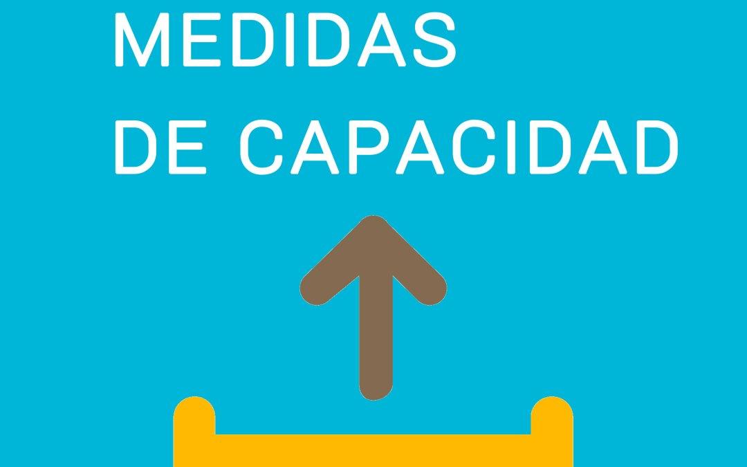 Medidas de capacidad