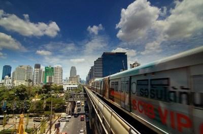 Skytrain di Bangkok