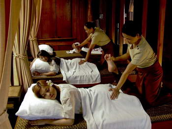 massaggio thai - foot massage