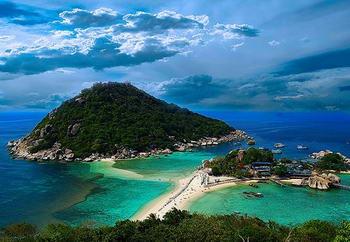 l'isola delle immersioni in Thailandia