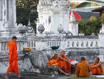 templi e monaci di Chiang Mai - Thailandia del nord
