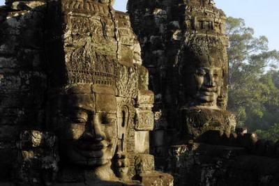 Tempio Bayon ad Angkor Wat - Cambogia