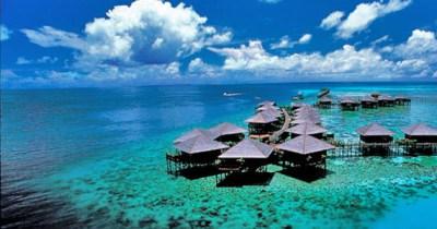 Splendidi resort della Malesia - Sipadan Island