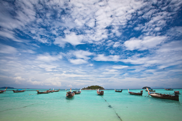 Visita Ko Lipe il mare delle Andamane  Thailandesi con il Tuor Operator InnViaggi