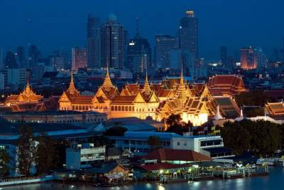 Il Grand Palace di Bangkok in Thailandia.