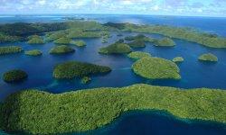Arcipelago di Palau dall'alto
