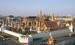 Incoronazione del re thailandese - Palazzo Reale di Bangkok