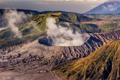 Gunung bromo cratere di tenger indonesia
