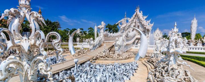 chiang rai e il white temple