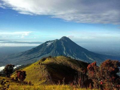 montagna java indonesia
