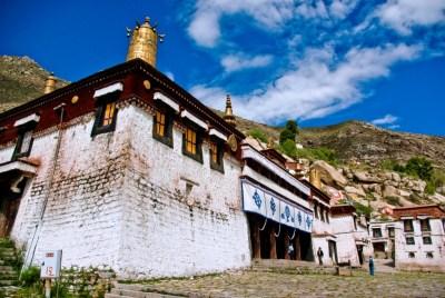 monastero sera tibet