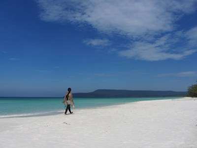 Spiaggia a Koh Rong