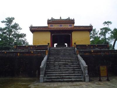 La Tomba di Mihn Mang, nei dintorni di Huè