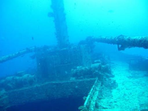 Un particolare dell'immersione al Maldive Victory