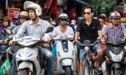 scooter in Vietnam