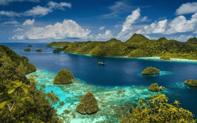 isole raja ampat - indonesia