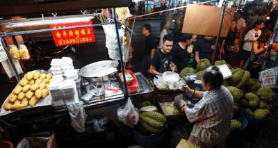 chinatown di bangkok - thailandia