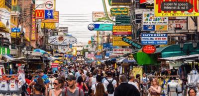 khao san road - bangkok - thailandia