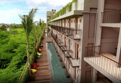 frii bali echo beach - hotel bali