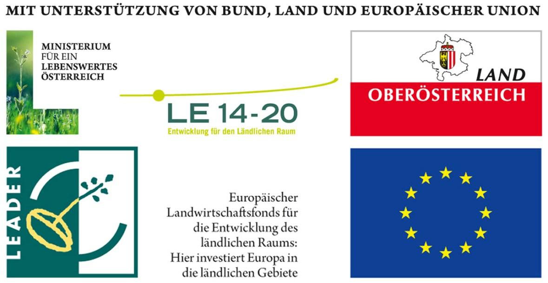 Gefördert durch Europäischen Landwirtschaftsfonds für die Entwicklung des ländlichen Raums und das Land Oberösterreich