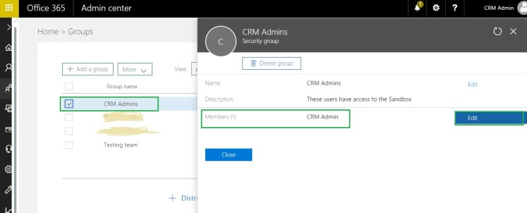Sandbox instance in Dynamics CRM