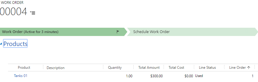 Payments related to Work Order and Invoice1