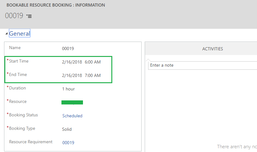 Scheduler Settings in Schedule Board