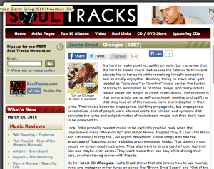 Soultracks review of Changes
