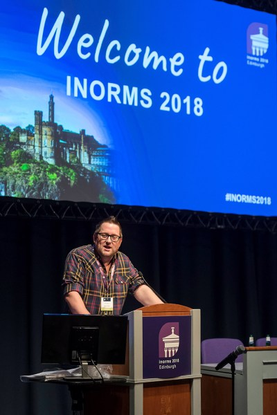 INORMS 2018. EICC, Edinburgh, June 2018. © Malcolm Cochrane Photography +44 (0)7971 835 065 mail@malcolmcochrane.co.uk No syndication No reproduction without permission