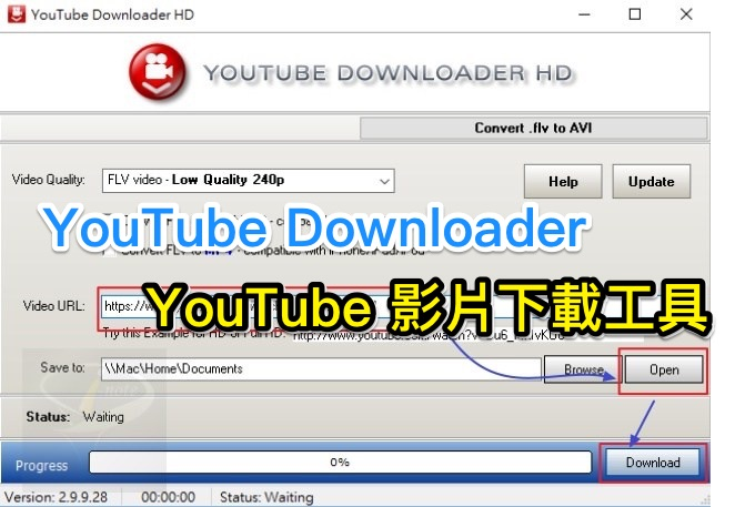 YouTube Downloader HD  2.9.9.31 英文可攜版 (for Windows)