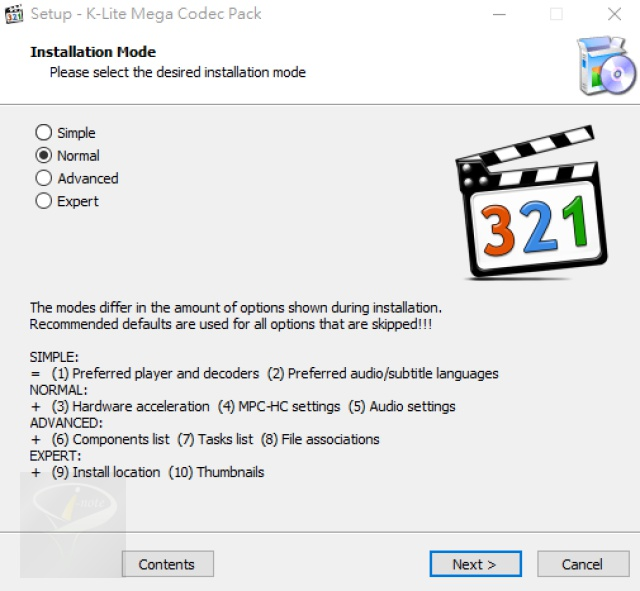 K-Lite Mega Codec Pack 14.9.3 英文版 (for Windows)