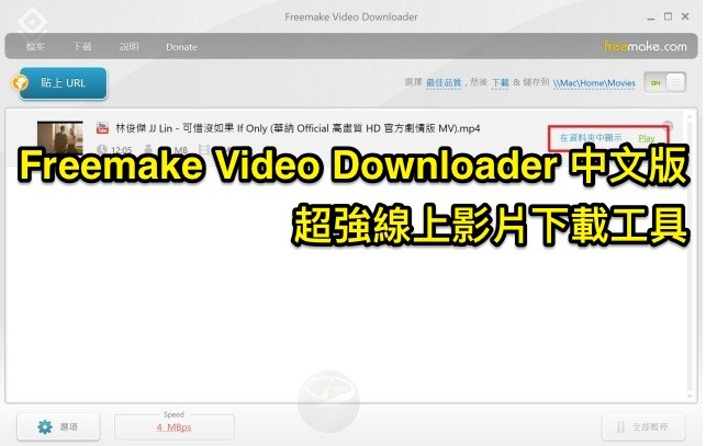 Freemake Video Downloader 3.8.2.2 中文版 (for Windows)