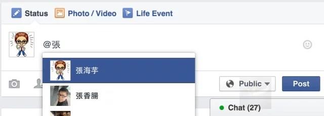 facebook tag people -1