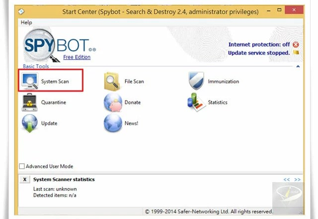 Spybot – Search & Destroy-2