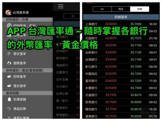 台灣匯率通