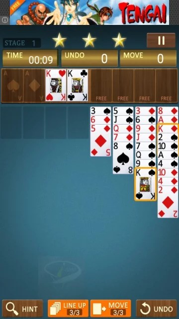 freecell king-7