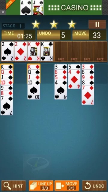 freecell king-8