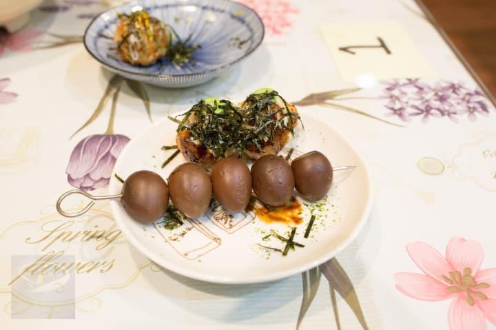 新莊-榛愛家中西式料理-素食章魚燒-12