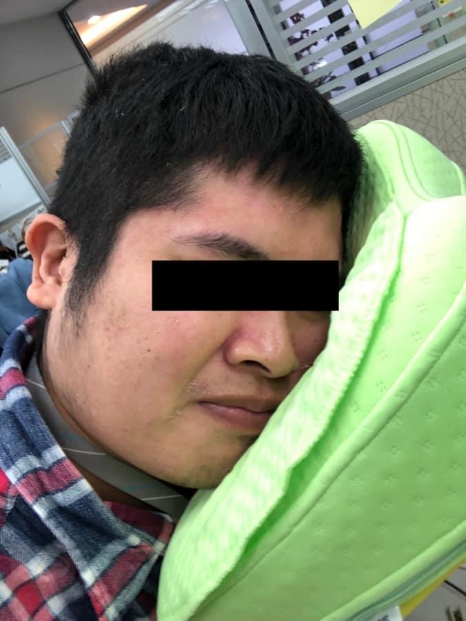 伸呼吸機能午睡枕_11