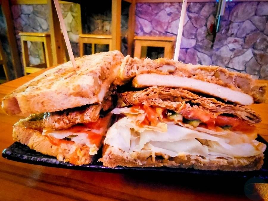 菁串蔬食燒烤_飢排三明治